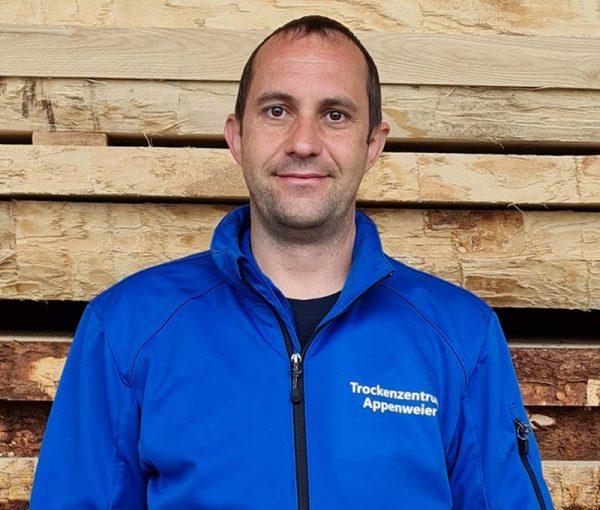 Trockenzentrum Appenweier - Betriebsleiter Martin Riebel